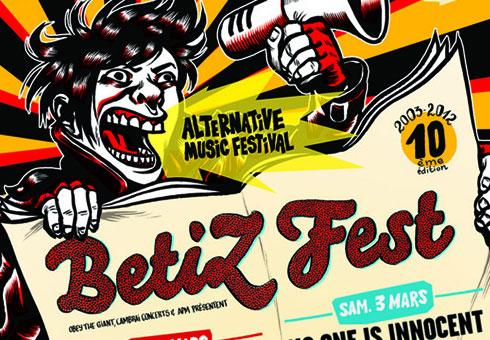 Image de l'affiche du BetizFest 2012