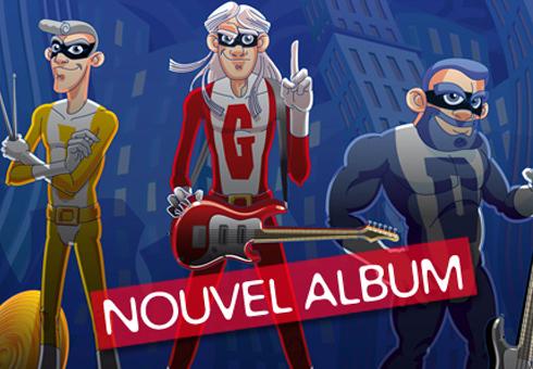 Biskotozoïde ! Le groupe de rock Lillois pour enfant, Les Biskotos, sort un nouvel album.