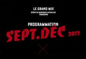 Programmation Grand Mix de Tourcoing