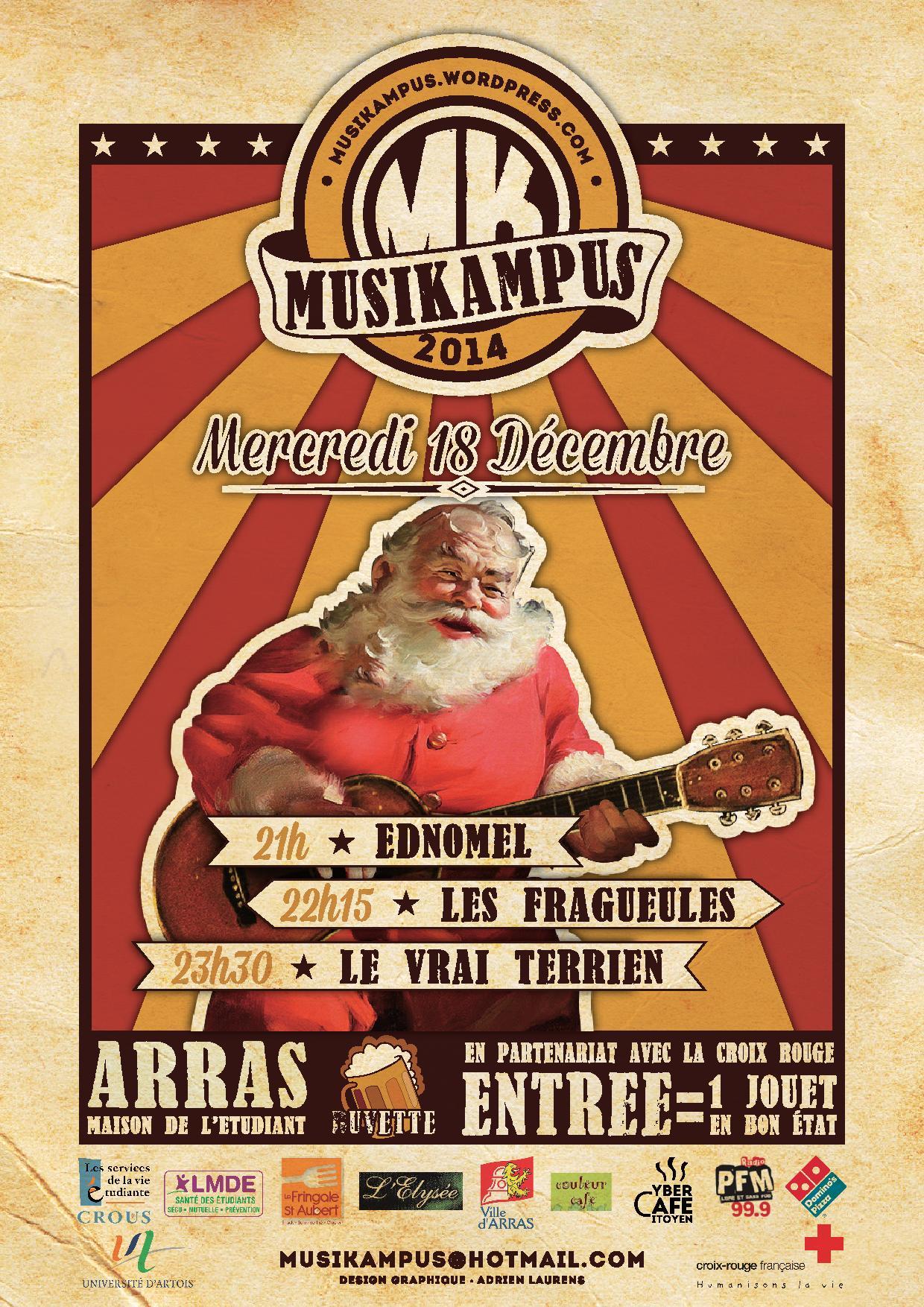 affiche noel musikampus   Concert de Noël Musikampus