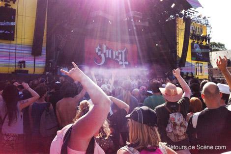 ghost   Main Square Festival 2014, une première journée sous le signe du Heavy Metal